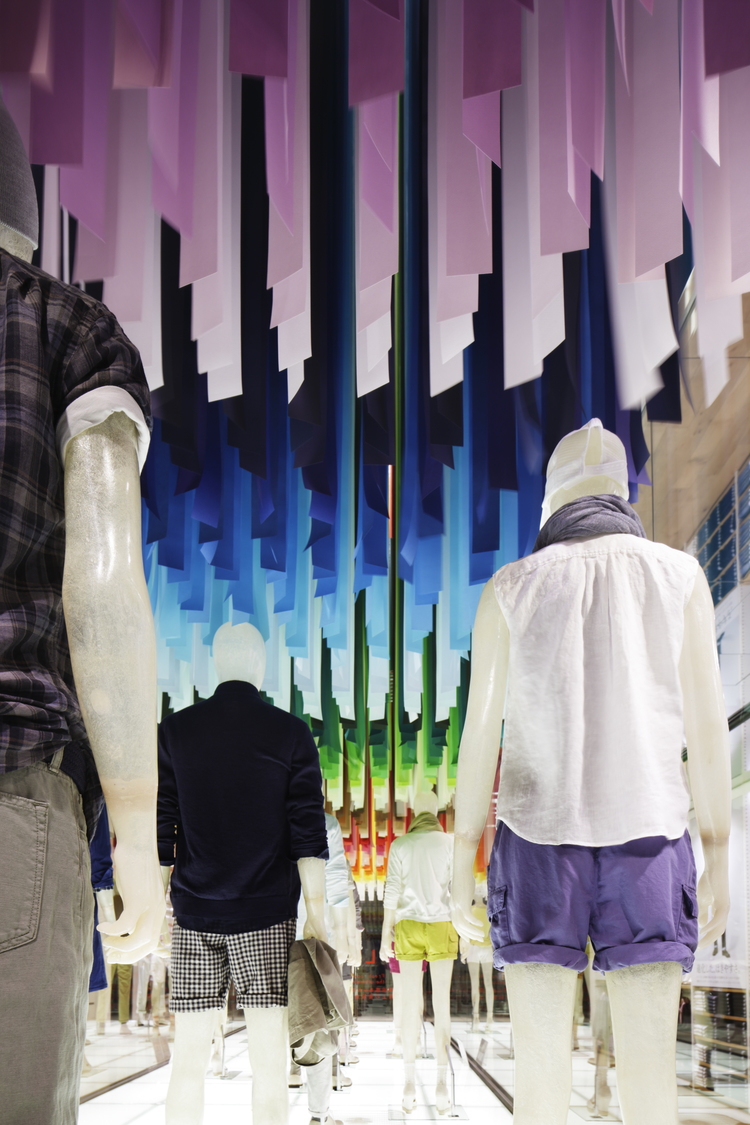 Spazi attraverso i colori: i progetti di Emmanuelle Moureaux