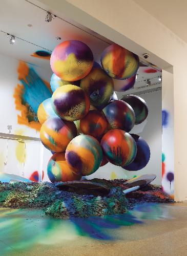 Il colore esplosivo di Katharina Grosse