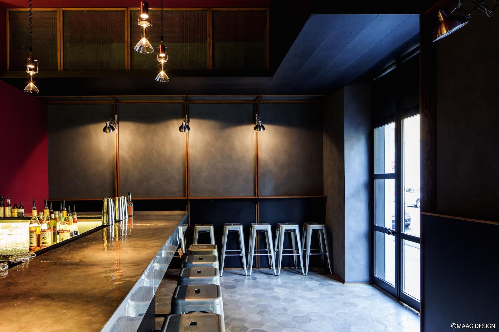 Zinc bar - il nuovo progetto di MAAG design