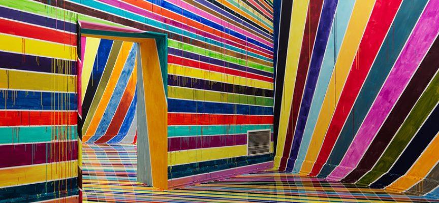 Architettura e colori: le opere psichedeliche di Markus Linnenbrink