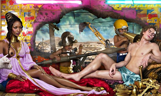 Colori e celebrità: le irriverenti opere fotografiche di David LaChapelle