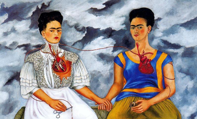 Frida Kahlo dipinto