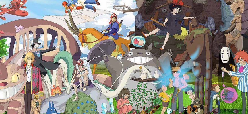 I colori di Miyazaki: le palette ispirate allo Studio Ghibli