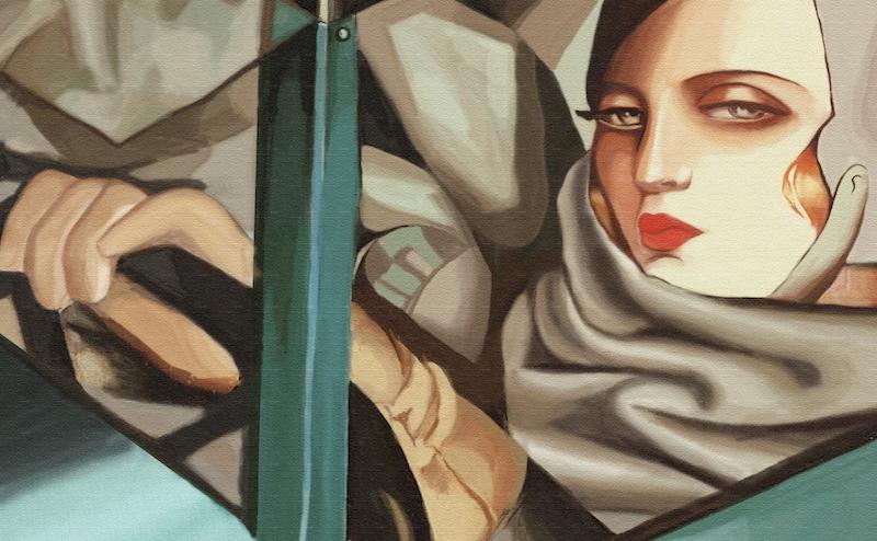 Tamara de Lempicka - Bugatti