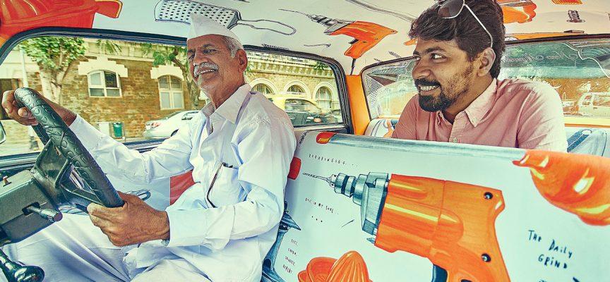 TAXI FABRIC: i taxi di Mumbai si trasformano in opere d'arte