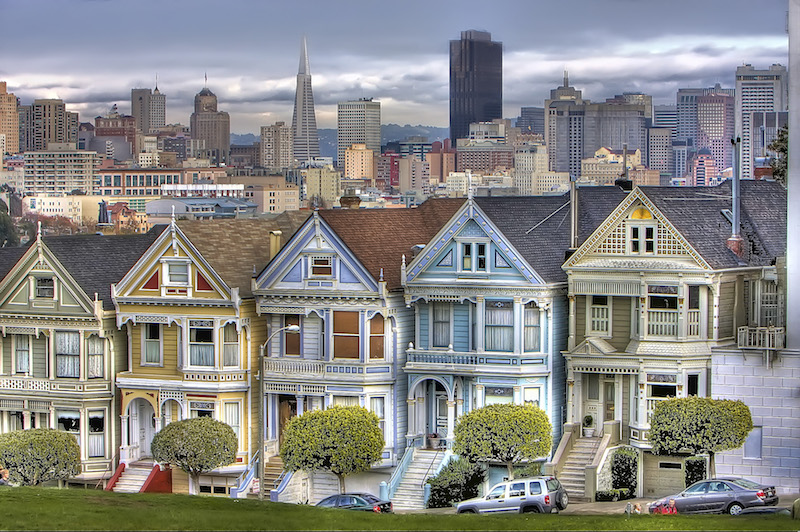 Painted Ladies – San Francisco