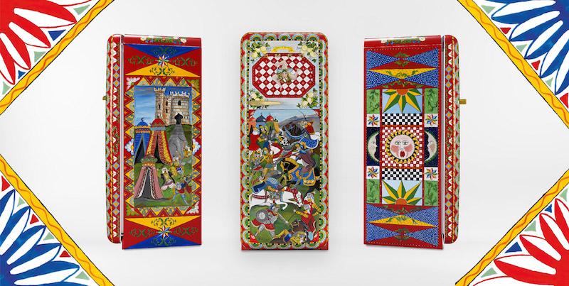 Dolce & Gabbana e Smeg: il frigorifero diventa un'opera d'arte