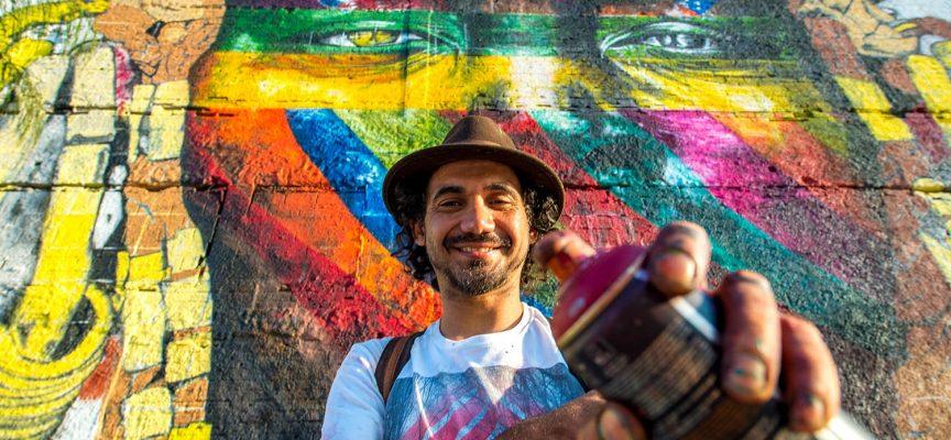 Street art da Guinness: il murales più grande del mondo a Rio de Janeiro