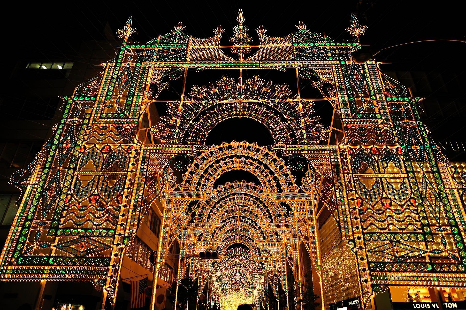 Natale: le luminarie più belle del mondo - Kobe