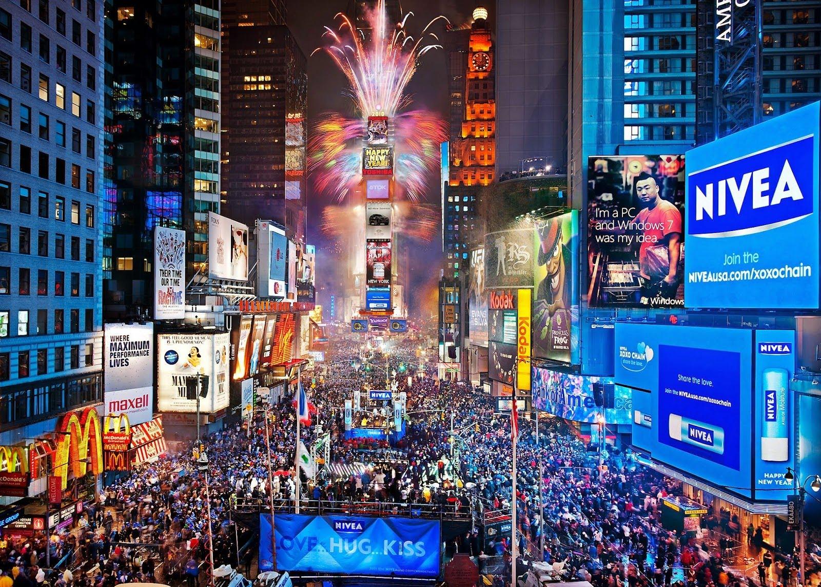 Capodanno: i fuochi d'artificio più belli del mondo - New York