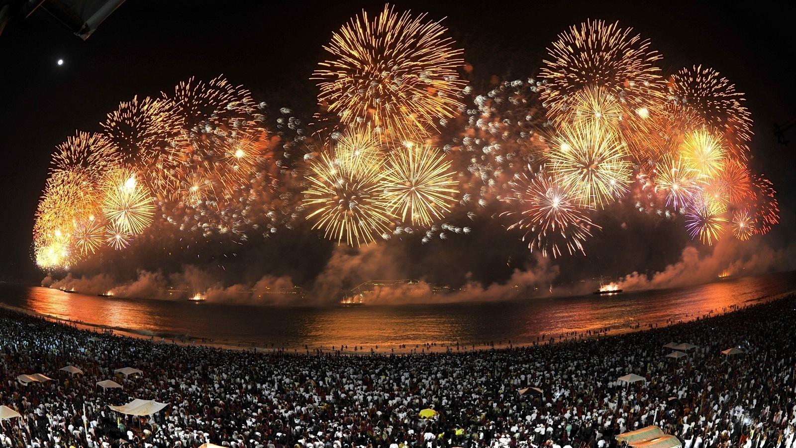 Capodanno: i fuochi d'artificio più belli del mondo - Rio de janeiro-nye