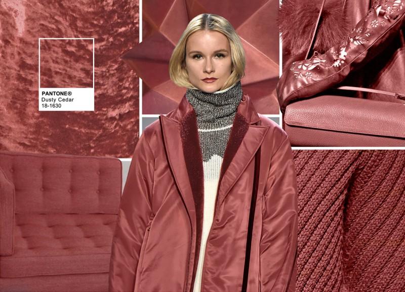 I 10 colori Pantone dell'inverno 2017 dusty-cedar