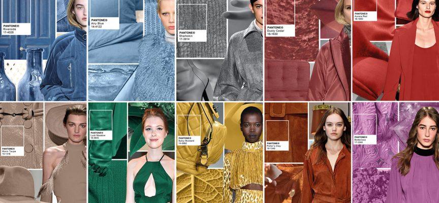I 10 colori Pantone dell'inverno 2017