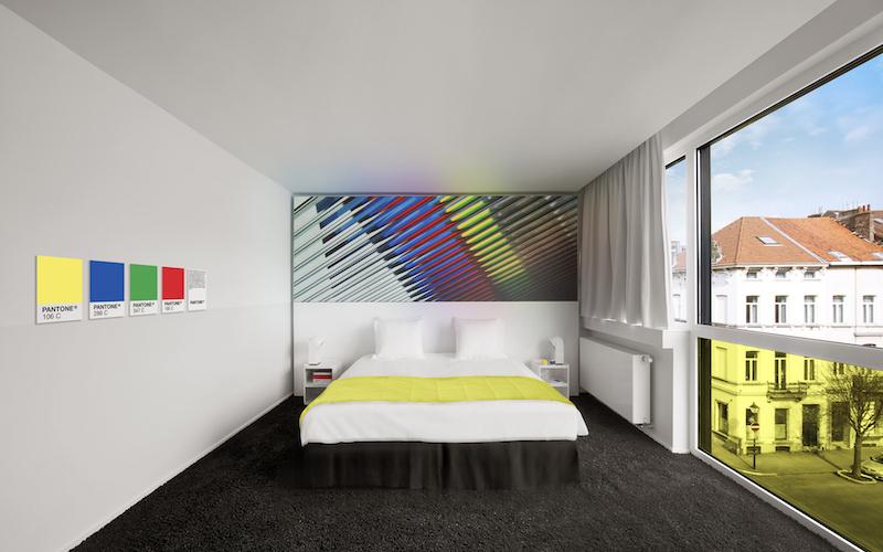 Gli hotel più colorati del mondo Pantone-Hotel