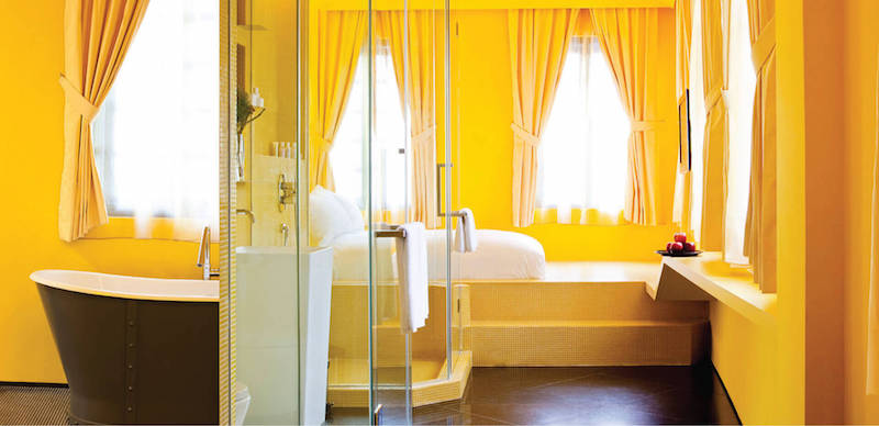 Gli hotel più colorati del mondo