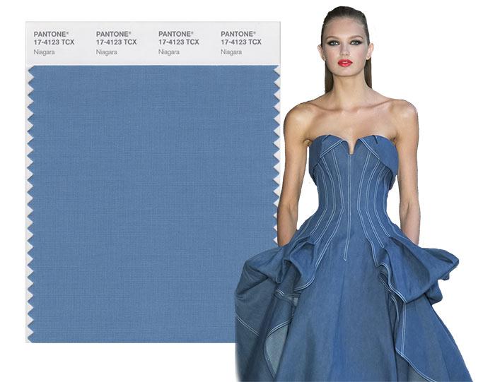 Tendenze moda primavera/estate 2017: i colori secondo Pantone Niagara 17-4123