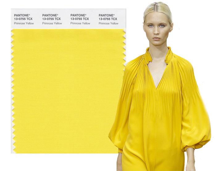 Tendenze moda primavera/estate 2017: i colori secondo Pantone Primrose Yellow 13-0755