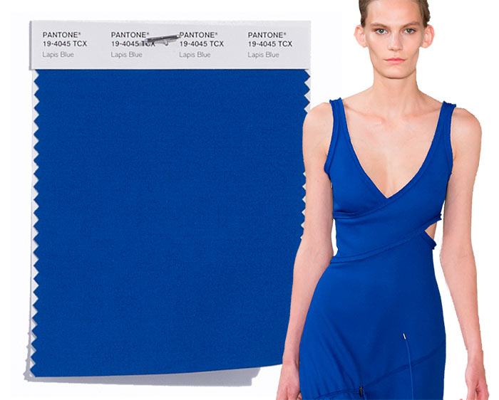 Tendenze moda primavera/estate 2017: i colori secondo Pantone Lapis Blue 19-4045