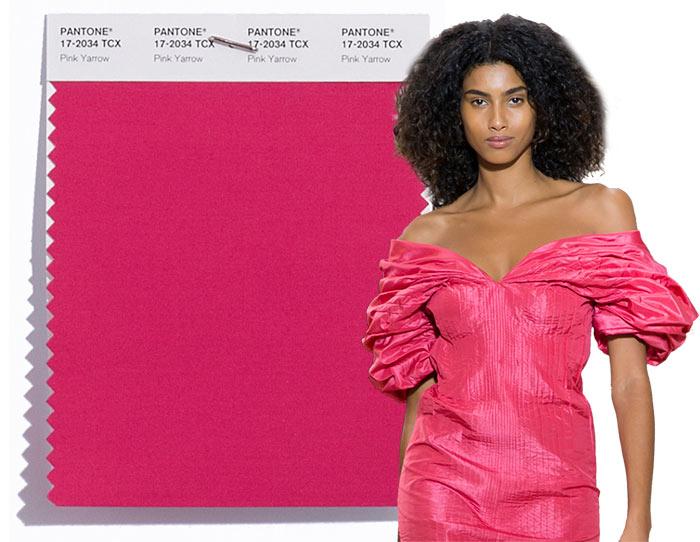 Tendenze moda primavera/estate 2017: i colori secondo Pantone Pink Yarrow 17-2034