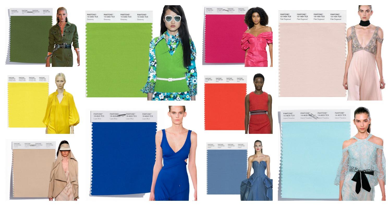 Tendenze moda primavera estate 2017 i colori secondo for Colori moda inverno 2018