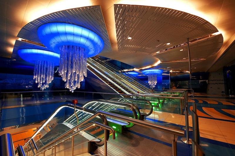 L'arte in metropolitana: le stazioni più belle del mondo - Dubai