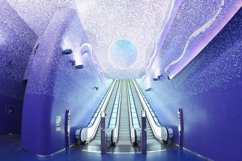 L'arte in metropolitana: le stazioni più belle del mondo - Napoli