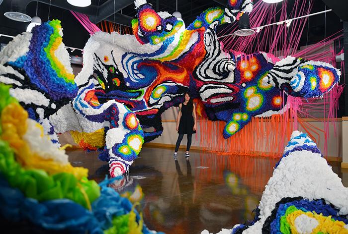 L'arte tridimensionale di Crystal Wagner
