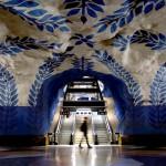 L'arte in metropolitana: le stazioni più belle del mondo Stoccolma