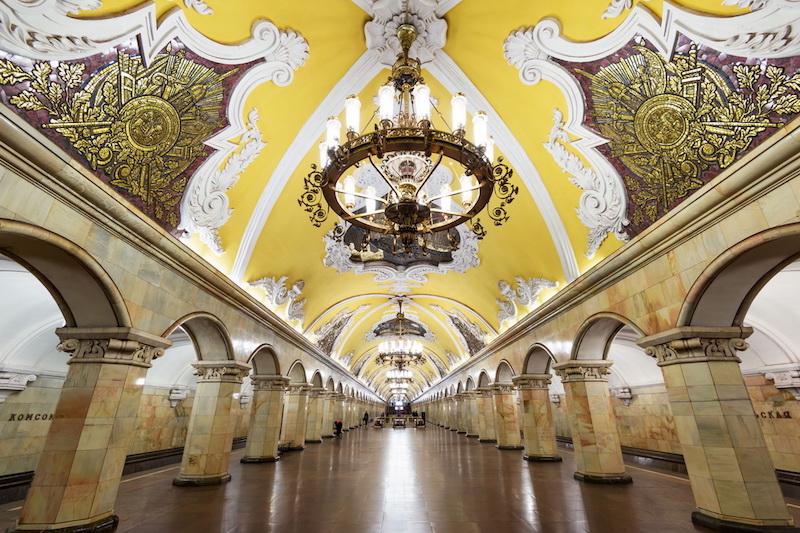 L'arte in metropolitana: le stazioni più belle del mondo - Mosca