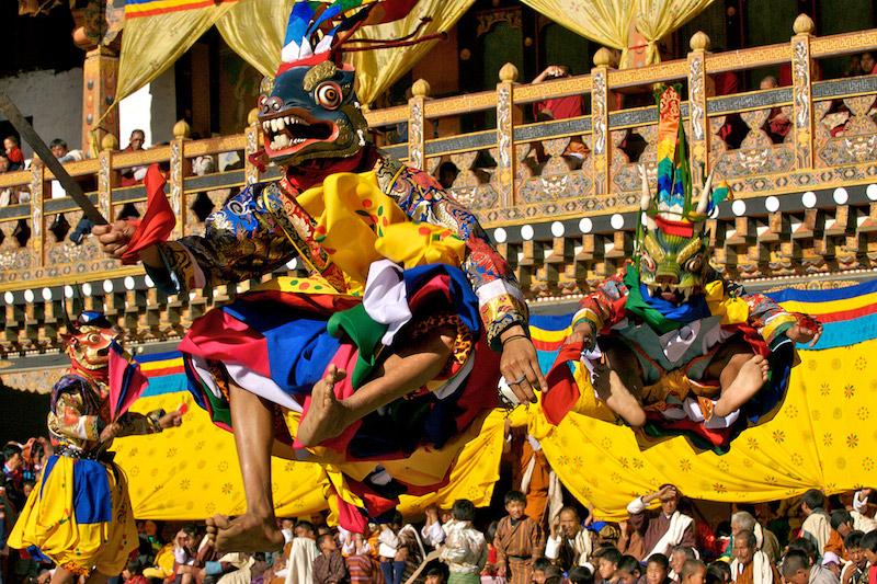Le feste di primavera nel mondo - Yakchoe di Ura, Bhutan