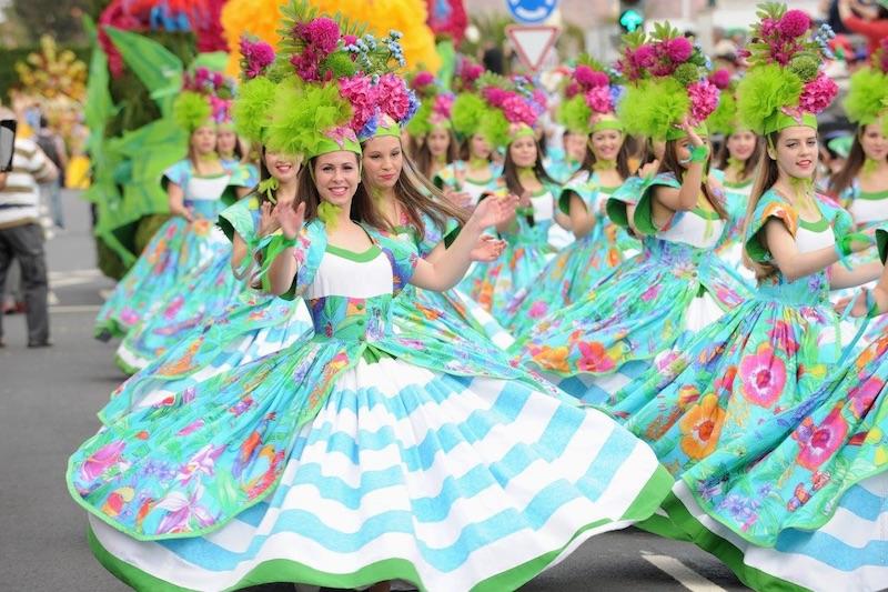 Le feste di Primavera nel mondo - Festa del Fiore, Madeira