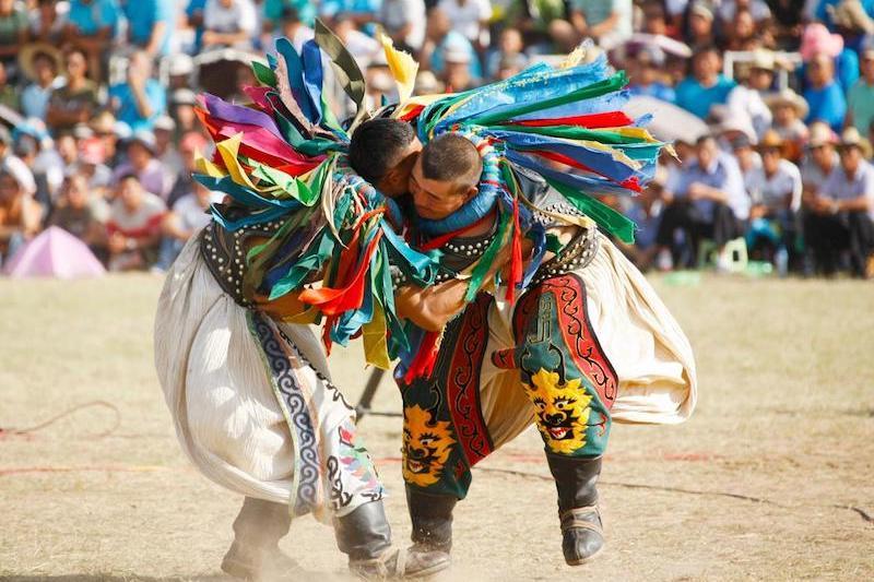Le feste di primavera nel mondo - Naadam, Mongolia