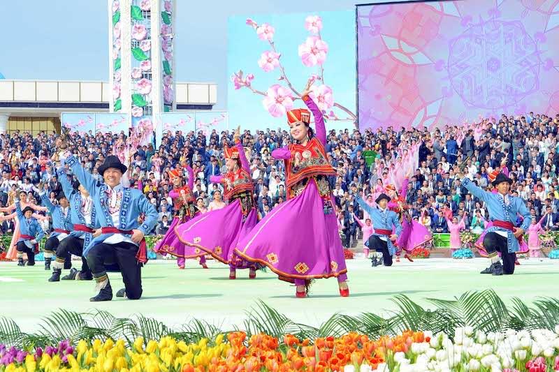 Le feste di primavera nel mondo - Navruz, Uzbekistan