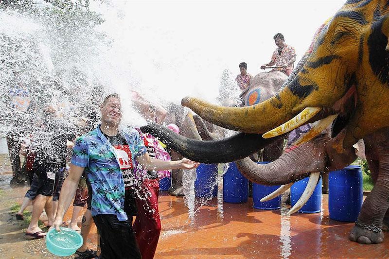 Le feste di primavera nel mondo - Songkran Tailandia