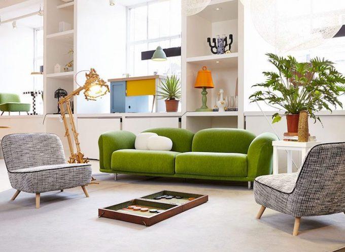 Il Greenery colora il design