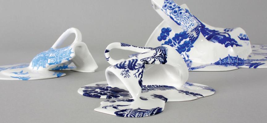 Le ceramiche sciolte di Livia Marin