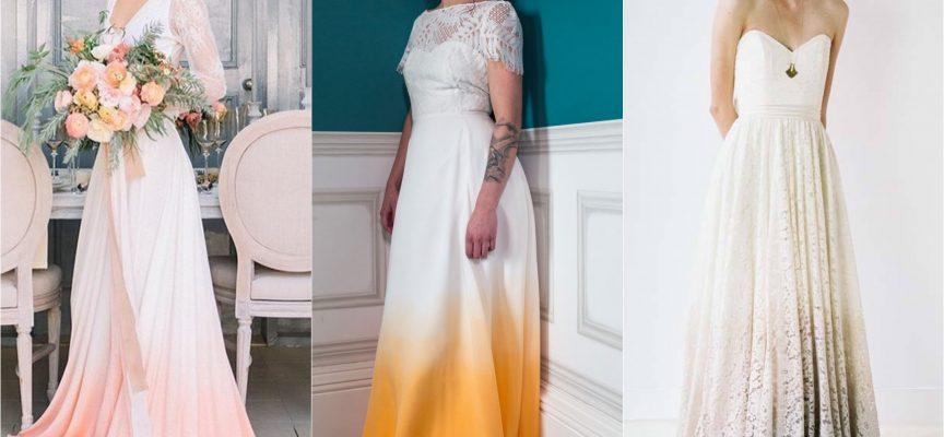 Tendenze sposa: arriva il Dip Dye