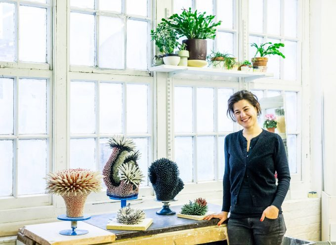 Le ceramiche floreali di Zemer Peled