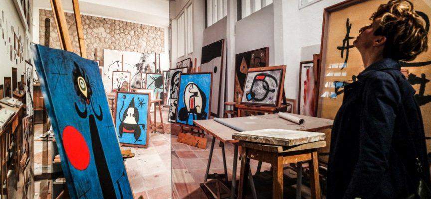 La mostra di Mirò a Bologna, Palazzo Albergati