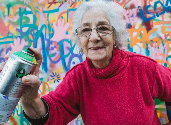 Street art in pensione