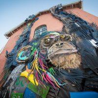 La street art ecologica di Bordalo