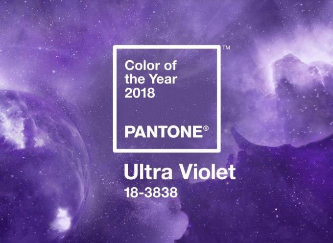 Ultra Violet è il colore Pantone del 2018