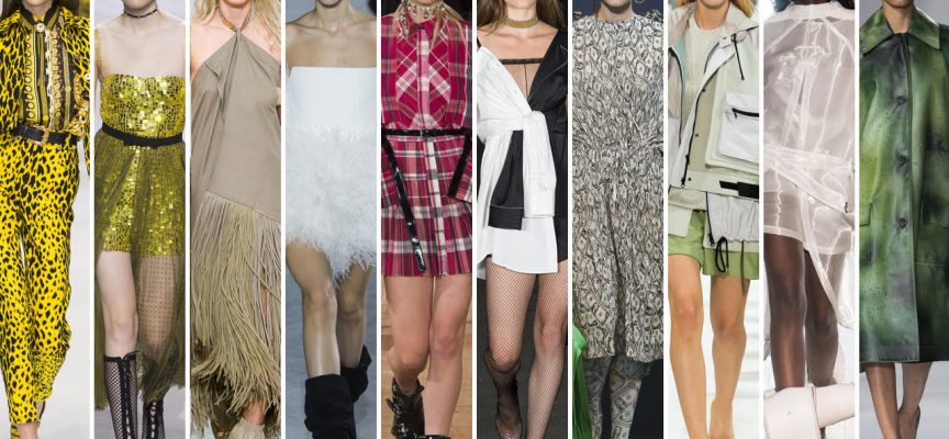 Tendenze moda: colori primavera – estate 2018