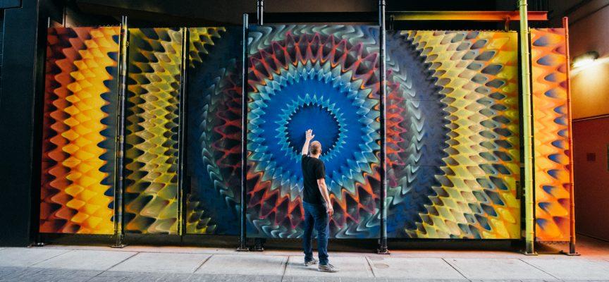La street art psichedelica di Hoxxoh