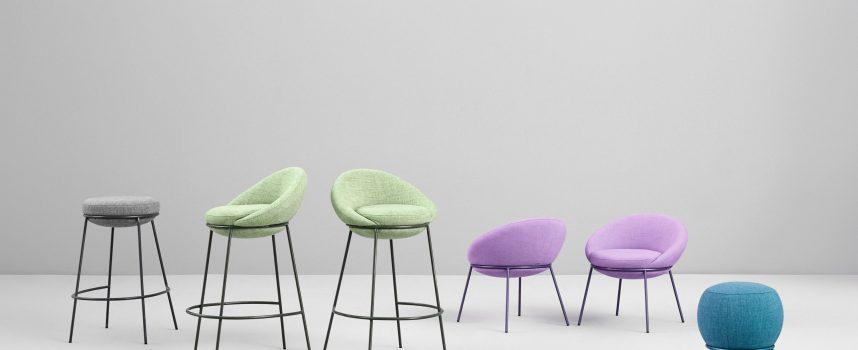 Sedute: il design segue il colore!