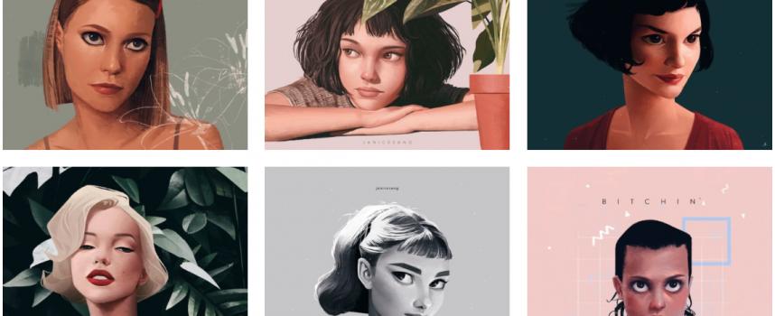 Moda e illustrazioni: Janice Sung