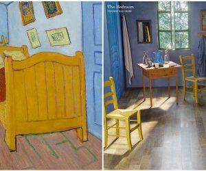 Designer e dipinti: l'arte diventa realtà