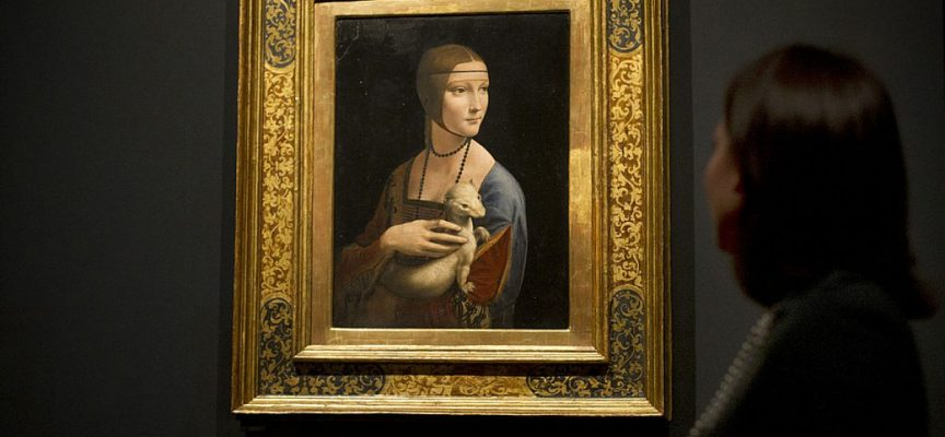 Cosa nasconde la tela di un'opera d'arte?