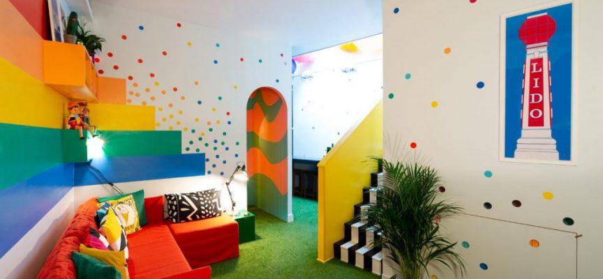 Big bit, la casa arcobaleno