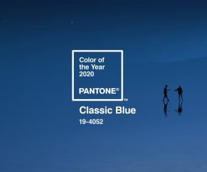 Il Classic Blue è il colore dell'anno 2020